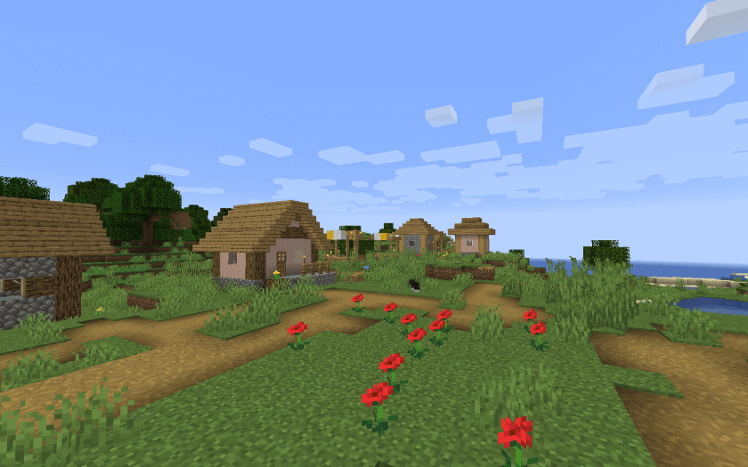 Minecraft Pocket Edition Flower Plains Seeds