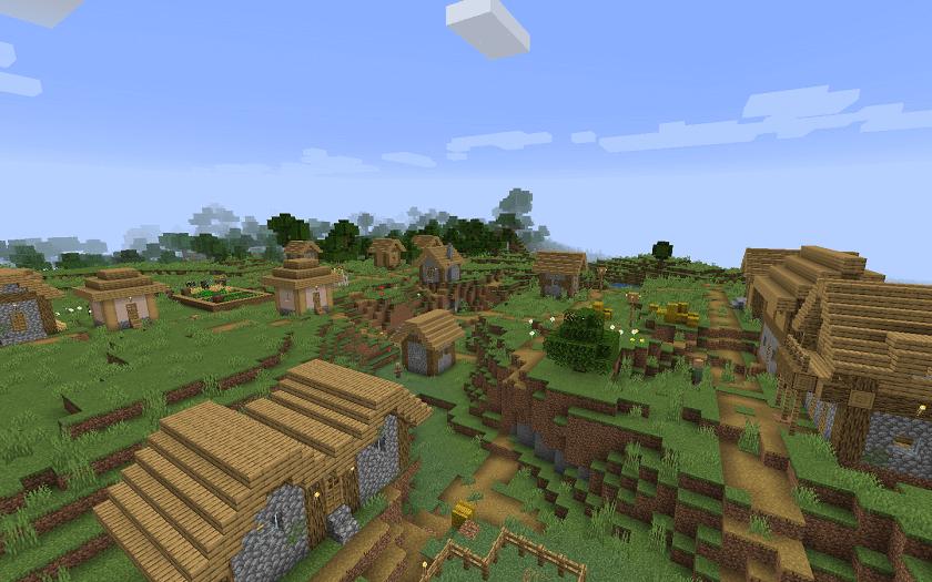 Minecraft PE Village Seed