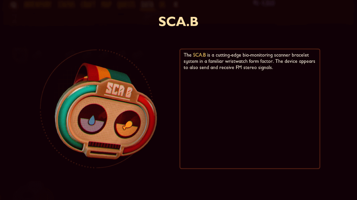 What is SCA.B (Scanner Bracelet) In Grounded