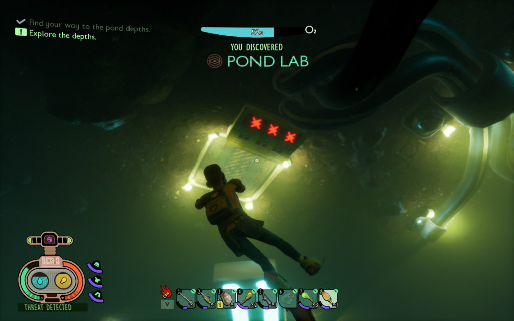 Opening The Pond Lab Door