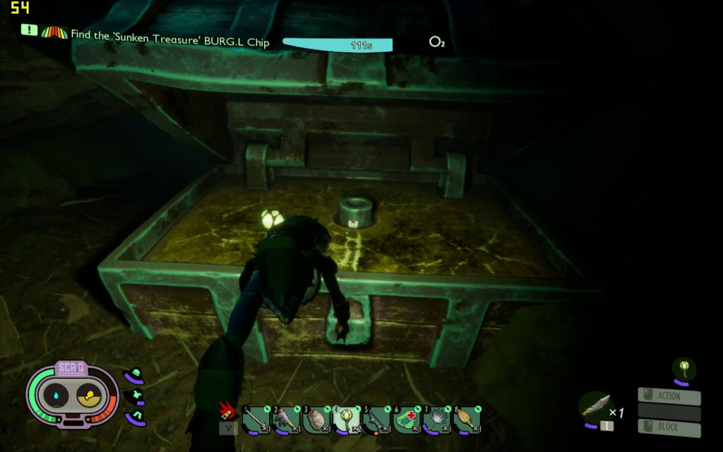 Opening of the Treasure Chest