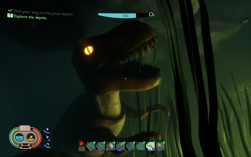T- Rex In Grounded