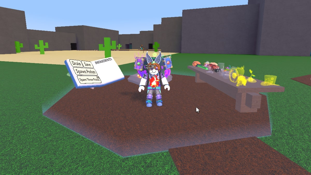 Roblox Wacky Wizards All potions and Recipes